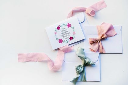 Will You Be My Bridesmaid Greeting Card & Envelope - 5 Pack