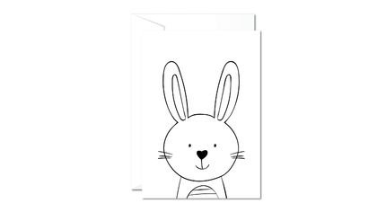 Greeting Card & Envelope - Bunny Boo