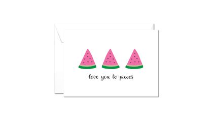 Greeting Card & Envelope  - Love You To Pieces
