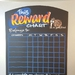 A3 Reward Chart Chalkboard Magnetic Organiser (Multi-coloured)