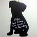 Puppy Hanging Chalkboard
