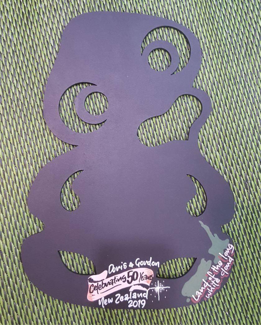 Tiki Hanging Chalkboard