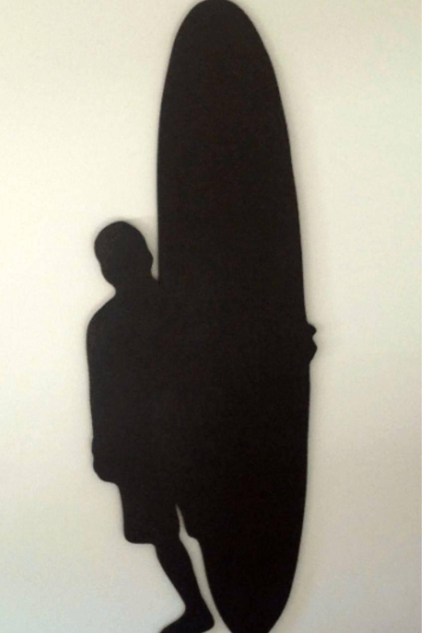 Surfer Hanging Chalkboard