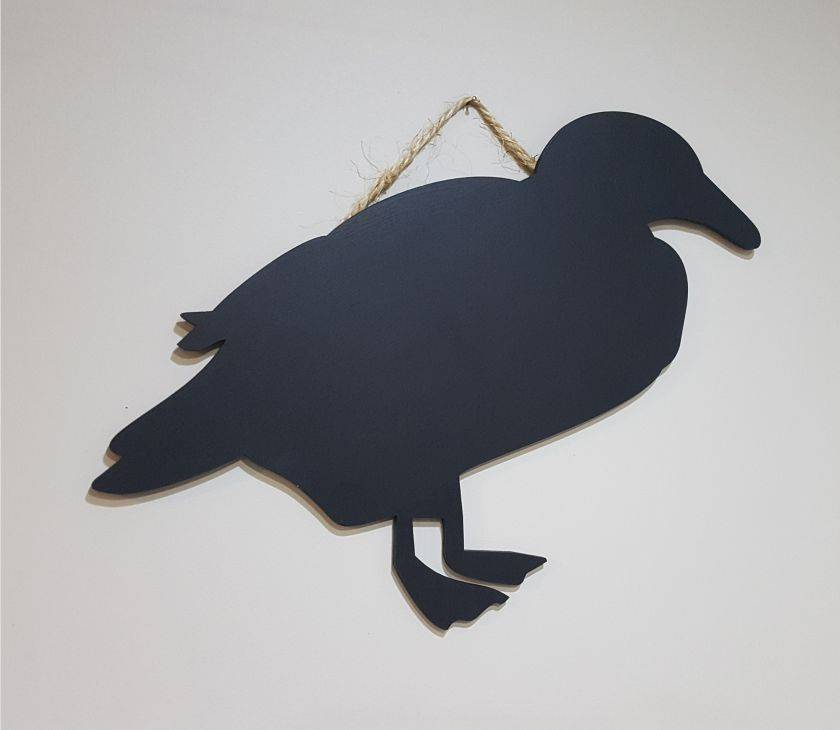 Whio (Blue Duck) Hanging Chalkboard