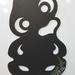 Tiki Fridge Magnet Chalkboard (themed)