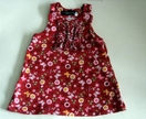 Butterflies and Flowers pinafore dress - size 2