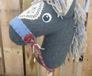 Hobby horse / stick horse - Genuine 'Nobel Steed'