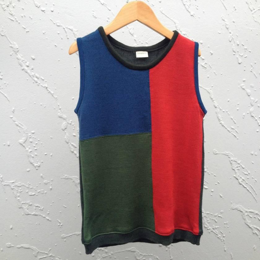 Size 8 years Upcycled Merino Vest