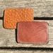 -Limited Edition-Handmade Leather Card Holder Dark Brown
