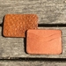 -Limited Edition-Handmade Leather Card Holder Light Brown