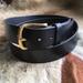 Buffalo Leather Belt Black