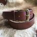 Buffalo Leather Belt Whiskey