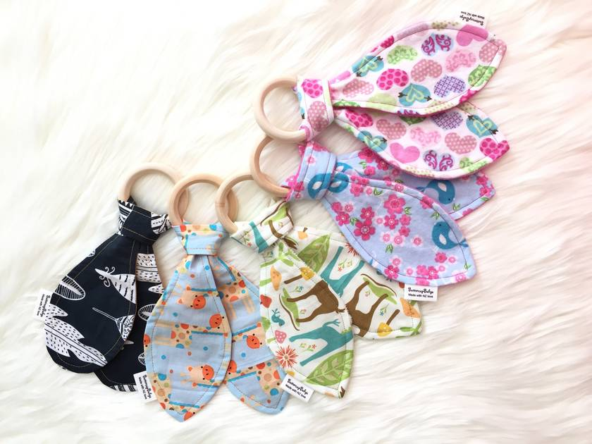 Teardrop Teething Rings