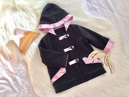 Feather Duffle Coat
