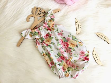 Floral Seaside Playsuit