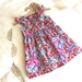 Flutter Sleeve Flamingo Dress
