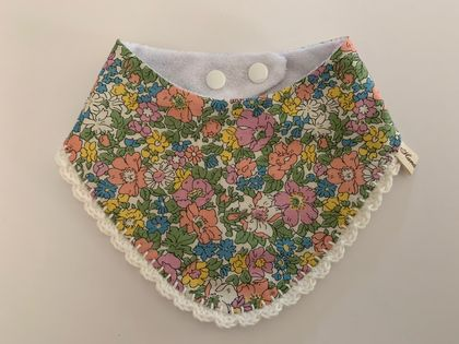 Liberty Crochet Bib