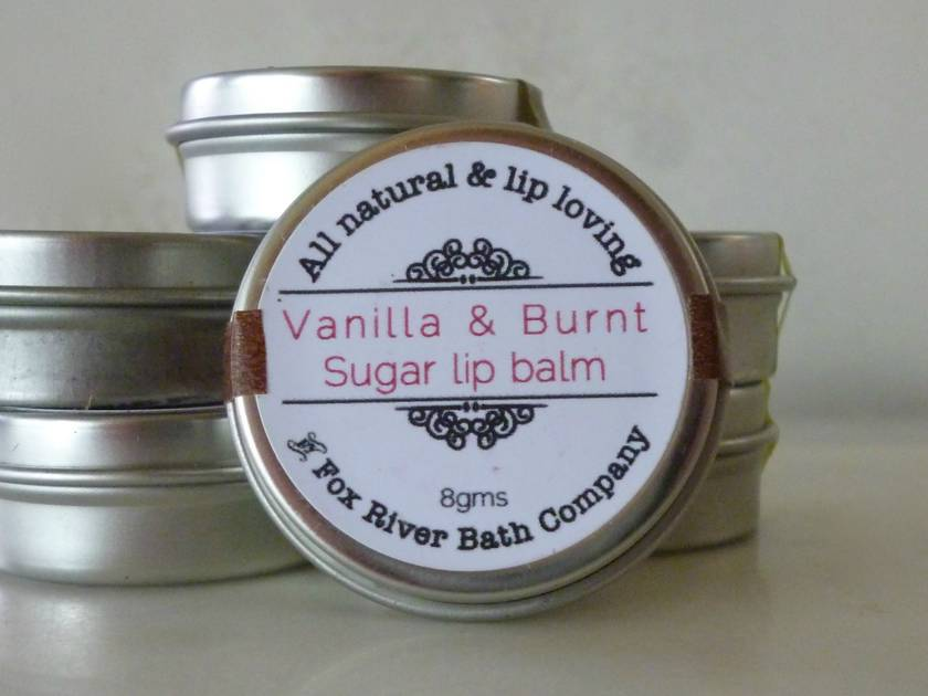 Vanilla & Burnt Sugar Lip Balm
