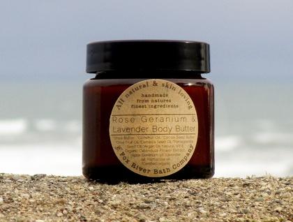 Organic Lavender, Rose Geranium and Palmarosa body butter