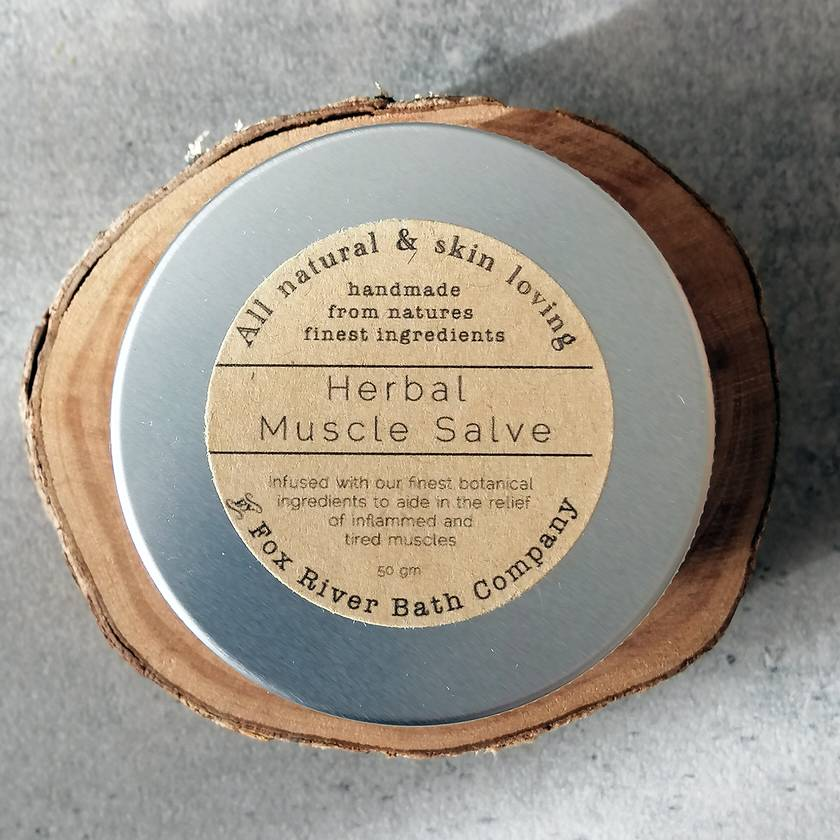 Herbal Muscle Salve