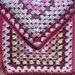 Acrylic Crochet Granny Blanket or Bed Throw