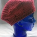 Red Acrylic Beret