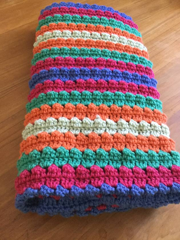 Triangles Baby Blanket