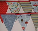 Boys City Traffic Bunting