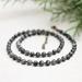 Beadsnknots Grey Indian Labradorite Necklace