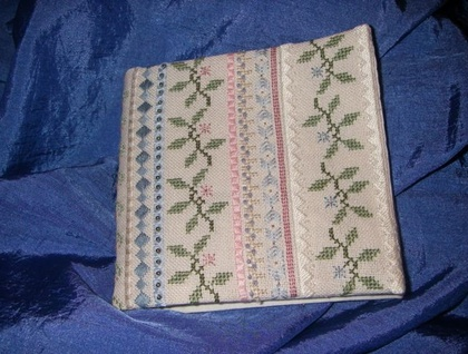 Beautiful hand embroidered needle case