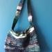 """""""Coastline"""" knitted shoulder bag"""