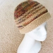 """Sandy Coral Islands"" knitted hat"
