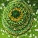 Handknit: Irish Moss beanie (Tip ya Hat range)