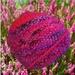 Handknit: Pink Heather beanie (Tip ya Hat range)