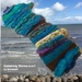 Handknit - Splashing Waves (Eclectic Rapt range)