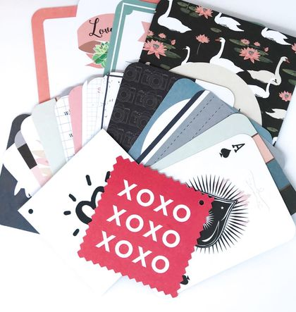 Pocket Cards for Scrapbooking DIY - 22PCS