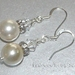*Gorgeous Designer Swarovski Crystal Pearl and bicone earrings*