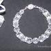 * Stunning Designer Crystal Clear Bracelet *