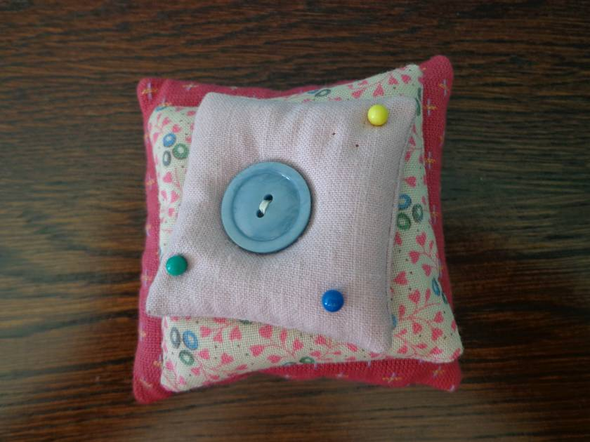 Stacked Pin Cushion