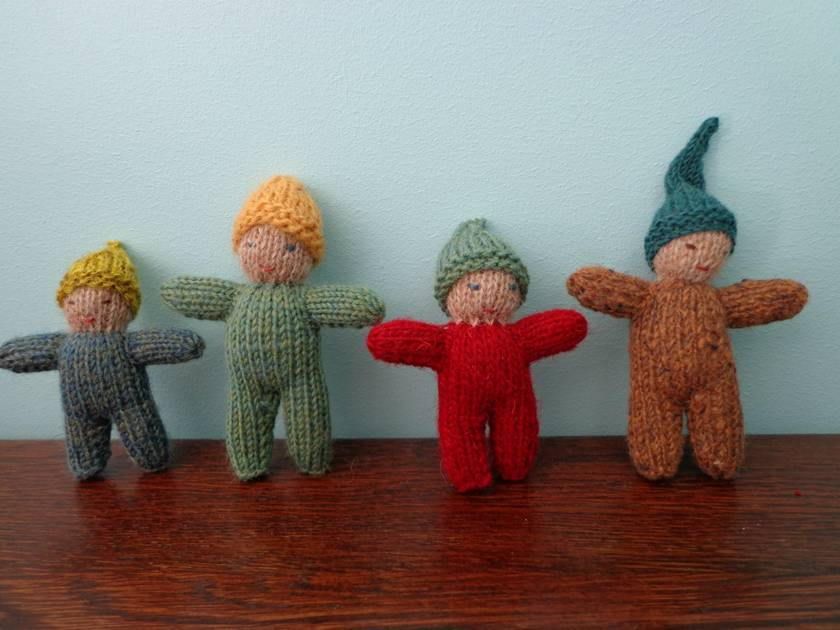 Knitted Pixies