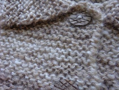 Handspun Natural Wool Jacket