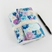 Blue and Purple Floral Journal