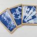 Set of 3 Textile Art Greeting Card