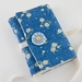 Blue Journal with Ceramic Button