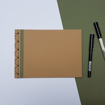 A5 Japanese Bound Notebook