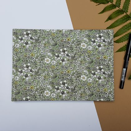 Floral Notebook