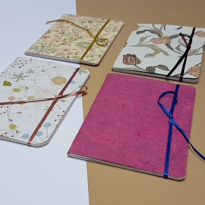 4 Pack of A6 Notebooks