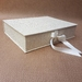 Oatmeal Keepsake Box / Photo Box (Lipped)