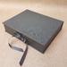 Black Keepsake Box / Photo Box (Lipped)