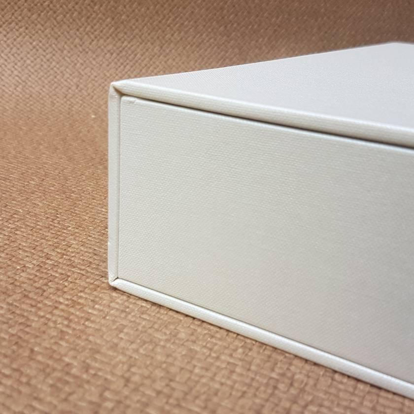 Pearl Keepsake Box / Photo Box (Flush edge)